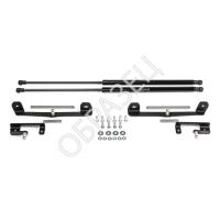 Амортизаторы багажника (RIVAL) 2 шт. Mitsubishi L200 (с пластинами) 2015-