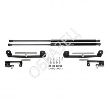 Амортизаторы багажника (RIVAL) 2 шт. Mitsubishi L200 (с троссами) 2016-