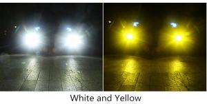 Диодные лампы головного света D33 LED (2 режима)_2