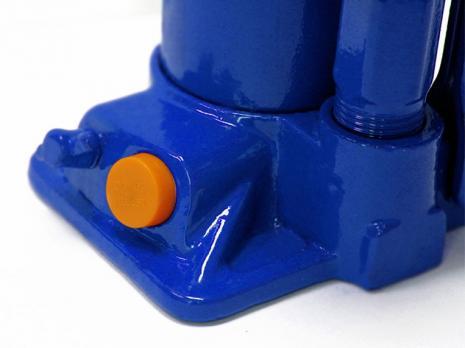 Гидравлический бутылочный домкрат 2 тонны (в кейсе), KRAFT