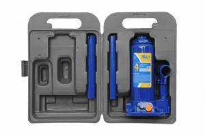 Гидравлический бутылочный домкрат 4 тонны (в кейсе), KRAFT