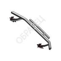 Решетка бампера d10 (RIVAL) Lifan X70 2018-