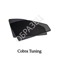 Каркасные шторки на магнитах (COBRA TUNING) передние окна Fiat Linea Sd (323) 2007