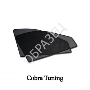 Каркасные шторки на магнитах (COBRA TUNING) задние окна Toyota Corolla Sd 2007