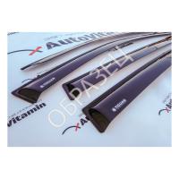Дефлекторы окон (VAD AcrylAuto) Газель длинный