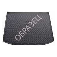 Коврик багажника полимерный (NORPLAST) Opel Zafira C (2012) (7 мест, разложенный 3 ряд )