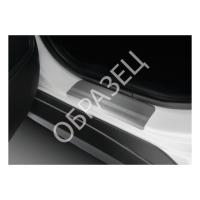 Накладки порогов хром (RIVAL) Volkswagen  Tiguan  2016-